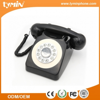 Best Design Old American Style Unique Retro Phone with Last Number Redial Function for Home Use (TM-PA188)