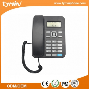 Cheap Price Basic Single-Line Line Powered Business Phone with Caller ID (TM-PA105)