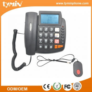 China High Quality Big Button SOS Emergency Phone with Caller ID Function and Speakerphone Amplified for Seniors and Kids