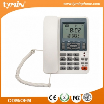 Super LCD display two line phone with three party conversation (TM-PA001)