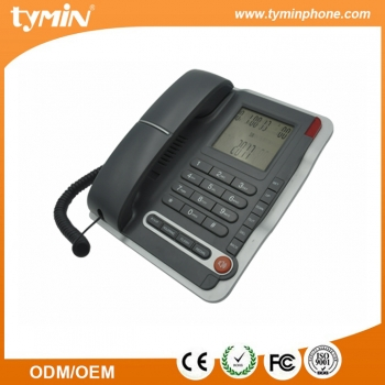 Desktop Corded LCD Display Business Phone for sale (TM-PA075)