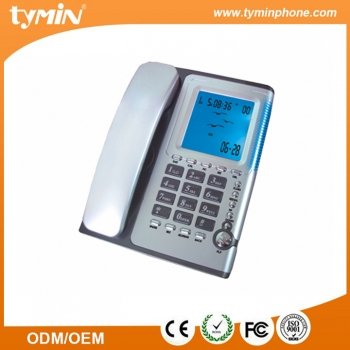 FSK / DTMF Jumbo CLI Corded Telephone for Business / Office / Home (TM-PA086)