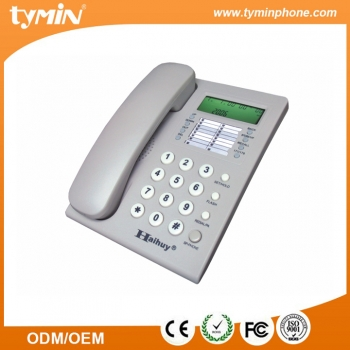 High Quality Single Line Corded Phone Caller ID (TM-PA107)