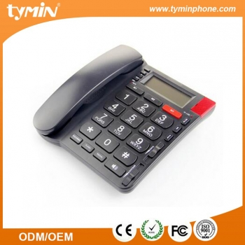High quality thunder-proof design HF speaker big button call id phone. (TM-PA032)