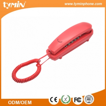 Mini colorful desk/mountable slim phone for home decoration (TM-PA190)