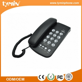 Guangdong High Quality and Low Price Desktop Basic Telephone with LED Incoming Calls IndicatorTM-PA149B)