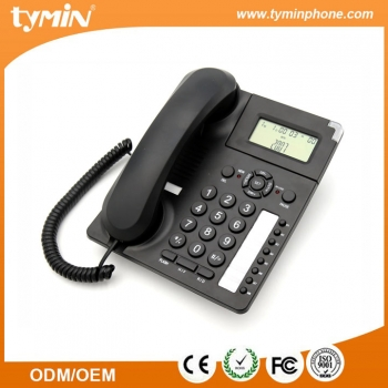 China New Arrival 2-Line Corded Office Phone System with Caller ID (TM-PA003)