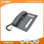 10 groups one-touch memories desktop or wall mountable analog telephone with LCD display (TM-PA123)