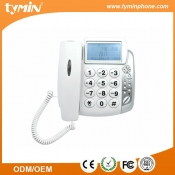 3 one-touch memory office used phone-book phone with call ID and name display function (TM-PA004)