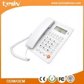 Black Color Basic Caller ID Phone for Office (TM-PA117)