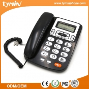 China Guangdong Wholesale vaste desktop nummerherkenningstelefoon met wandmontage en desktopfunctie (TM-PA5005) fabriek