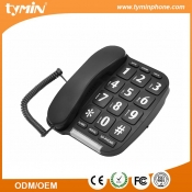 Amazon Hot Selling Big Button Luidsprekertelefoon met P / T-schakelbare en Music on Hold-functie (TM-PA014)