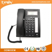 Shenzhen 2019 Good Quality Caller ID Corded Telephone with Speakerphone and 10 Groups One-Touch Memory Buttons for Office Use (TM-PA005A)