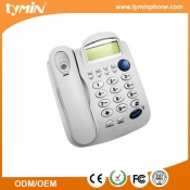 White Color Fixed Hands-free Office Telephone With Caller ID (TM-PA012)
