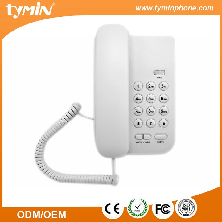 Basic Telephone Without Caller Id Desktop Phone For Office Tm Pa016